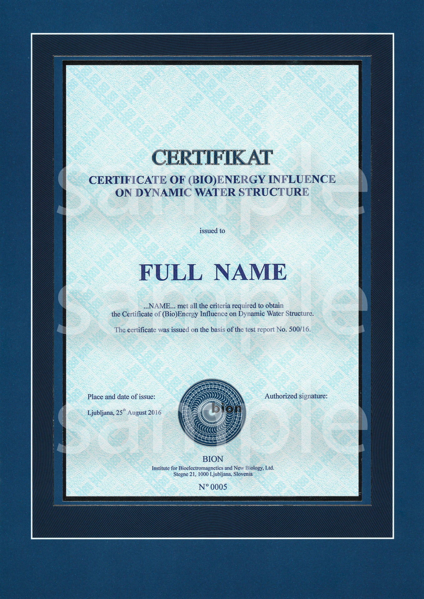 bion_institute-certifikat_of_bioenergy_influence_on_water